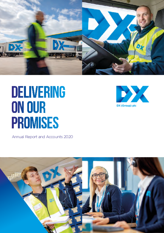 DX (Group) plc Annual Report 2020