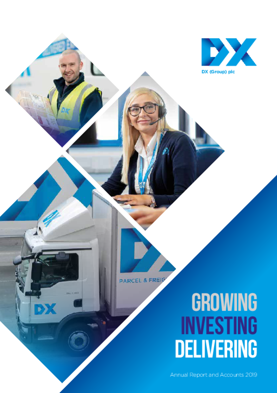 DX (Group) plc Annual Report 2019