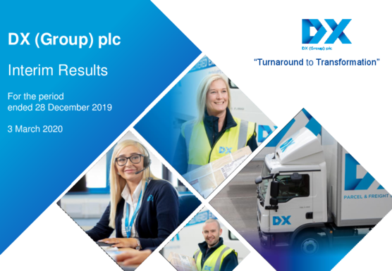 DX (Group) plc Interim Results Presentation 2020